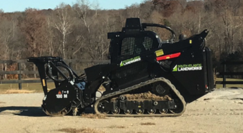 skid steer forestry mulching equipment